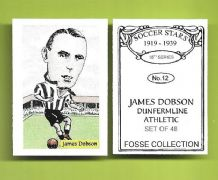 Dunfermline Athletic James Dobson 12 (FC)